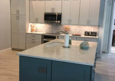 remodeled kitchen | Brian Flores Contractors | Sebastian Florida | Quality construction with reliable service